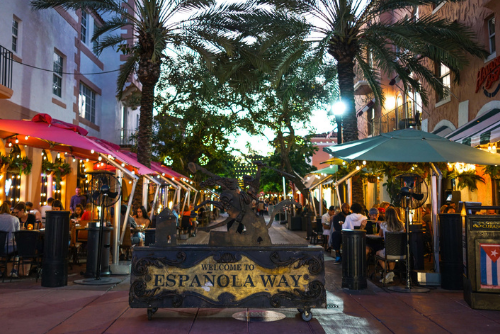Go to Espanola Way