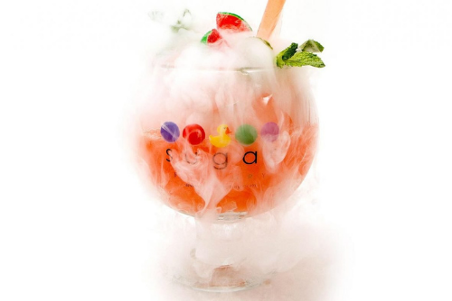Have a Cocktail at Sugar Factory